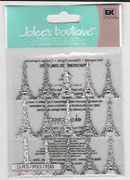 Jolee's Eiffel Tower Repeats 3d Stickers Travel