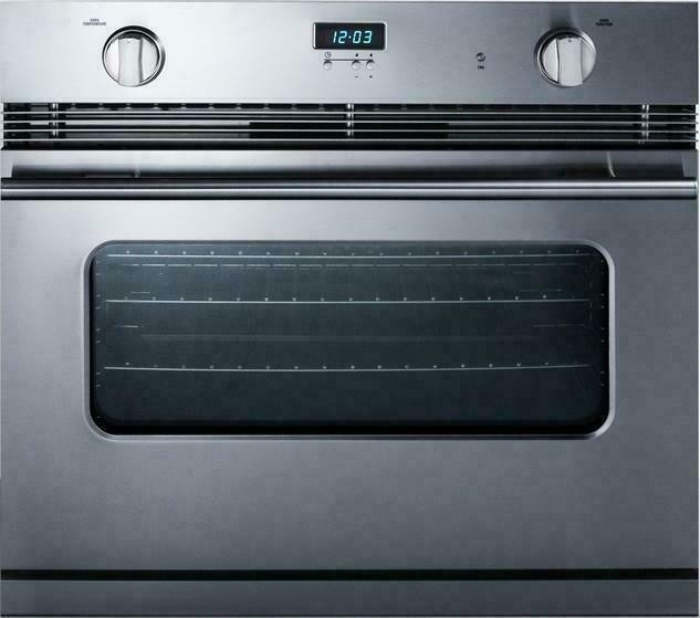 Summit Sgwo30ss Gas Wall Oven Stainless Steel For Online Ebay