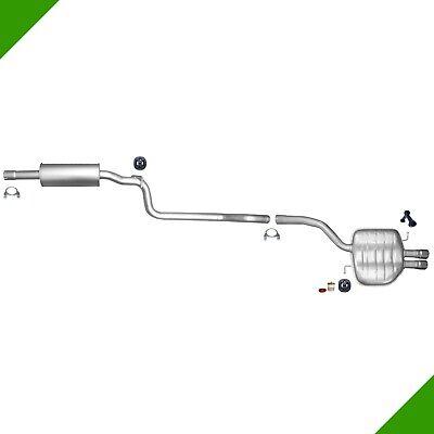 Schalldämpferanlage VW Passat 3C Variant 2.0 TDI Volkswagen CC Auspuff