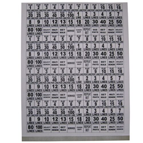 4 Sets Cut to Fit Free Shipping Complete Decal Set Button Legend Sp-Sheet-1