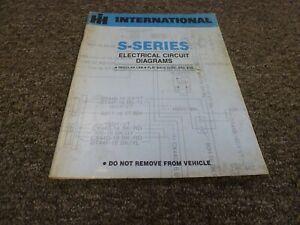 1989 International 2574 2575 2674 2675 Truck Electrical Wiring Diagrams  Manual | eBayeBay
