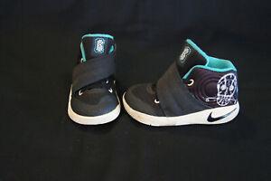 dbe50e8e1be9 Nike Kyrie 2 toddler size 6c black hyper jade white 827281-001