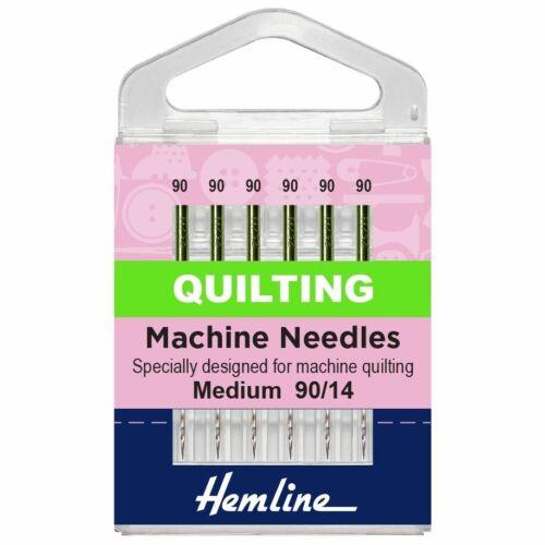 Quilting Machine à Coudre Aiguilles Medium//titane