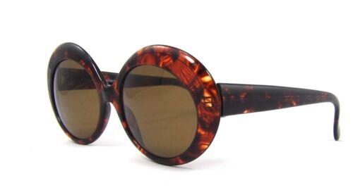Club LA 8056 Jackie O Havana Tortoise Blond Red Oval Sunglasses Vintage Italy