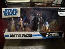 Star Wars The Legacy Collection Jedi Training on Dagobah Battle Pack MISB 2008