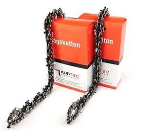 2 Ketten 325 1,5mm 76TG passend für Kettensäge Scion HB 5200 *