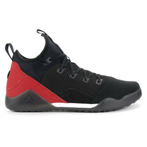 Reebok-Men-039-s-Combat-Noble-Trainer-Black-White-Red-Training-Shoes-BS6179-NEW