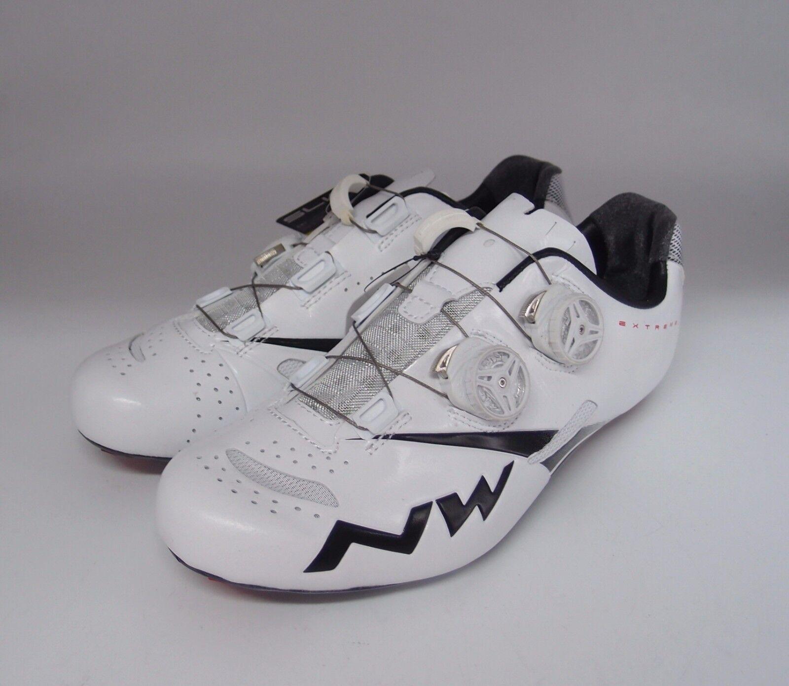 Northwave Extreme Tech + zapatos talla 42.5 blancoo Negro