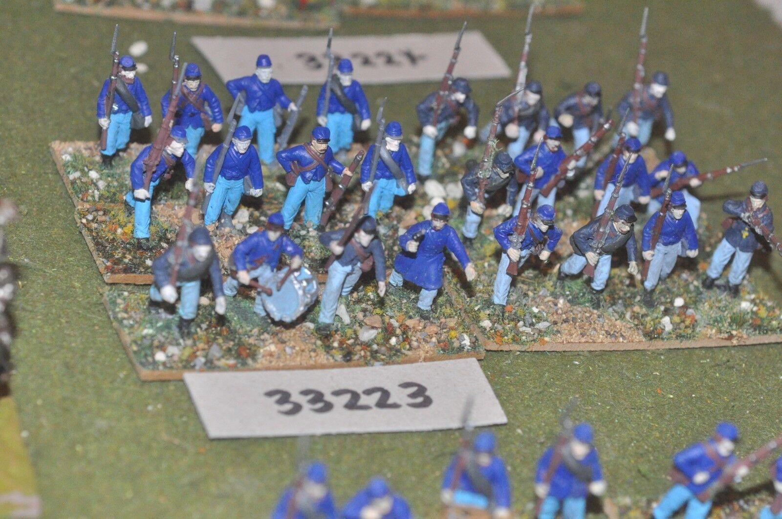 25mm ACW   union - regiment (plastic) 24 figures - inf (33223)