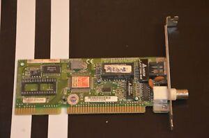 Delta-LAN7236G-10-MBit-BNC-RJ45-Netzwerkkarte-ISA