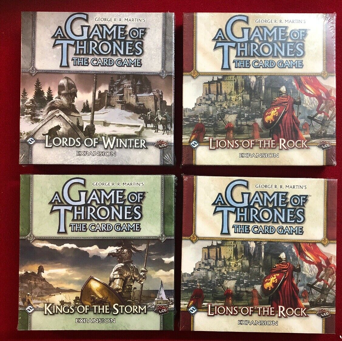 A Game Of Thrones   4 Big Box Expansion   New And Sealed ⚡️⚡️⚡️