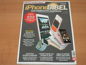 iphone bibel das komplette handbuch f r iphone ipad und apple watch 02 2016 1a ebay. Black Bedroom Furniture Sets. Home Design Ideas