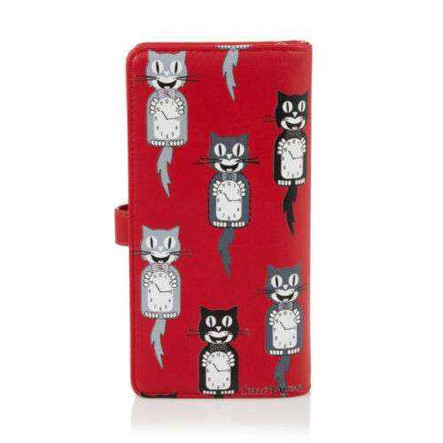 Various cat designs Large Purse Shagwear Ladies Wallet