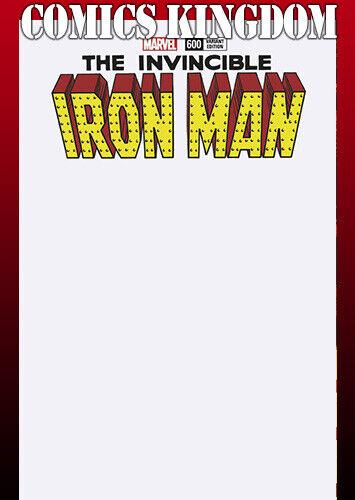 Invincible Iron Man #600 Blank Var NM