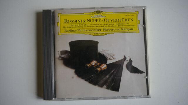 Rossini & Suppe - Ouvertüren - Berliner Philhamoniker / Karajan - CD