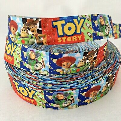 YARD DISNEY TOY STORY FORKY CHARACTER GROSGRAIN RIBBON
