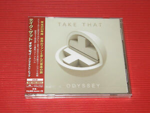 2018 JAPAN 2 CD SET  TAKE THAT ODYSSEY GREATEST HITS + THREE NEW SONGS