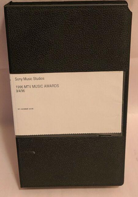 VHS ~ 1996 MTV Video Music Awards VMA's (Sony Music Studios Copy) 9/4/96