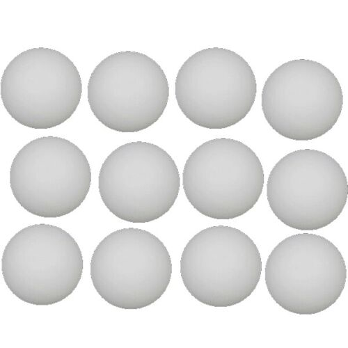 12x Tischtennisbälle Tischtennis Bälle Table Tennis Balls Tischtennisball weiß