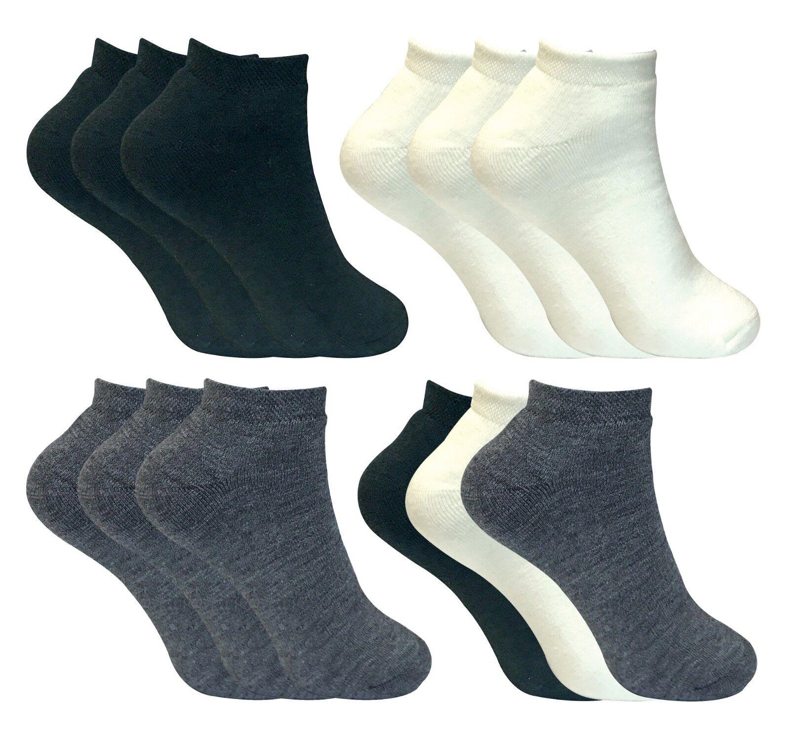 3er pack damen herren winter warm kurz thermo socken mit innenfell für sneaker