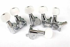 Jin HO 6 inline guitar machine heads, tuners, quality Korean parts New