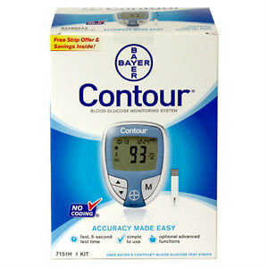 Bayer Contour Blood Glucose Meter 1 Ea By Bayer Included