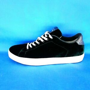 Details about Leather Crown Men's Shoes Low Top Trainers MLC06 Size 44 Velvet Lace Np 279 New