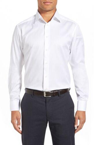Eton crisp wit twill 16 00 Nieuw short slim geweven 285 overhemd fit 41 d5BqHx