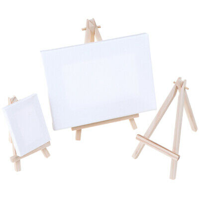 5pcs Mini Artist Wooden Easel Wood Wedding Table Card Stand Display Holder Pip