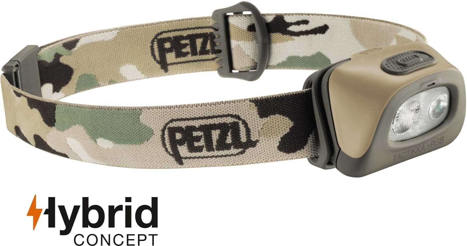 Petzl Camping Tactikka + RGB 250 Lumens Outdoor Camping Petzl / Hunting Head lamp Torch 30c029