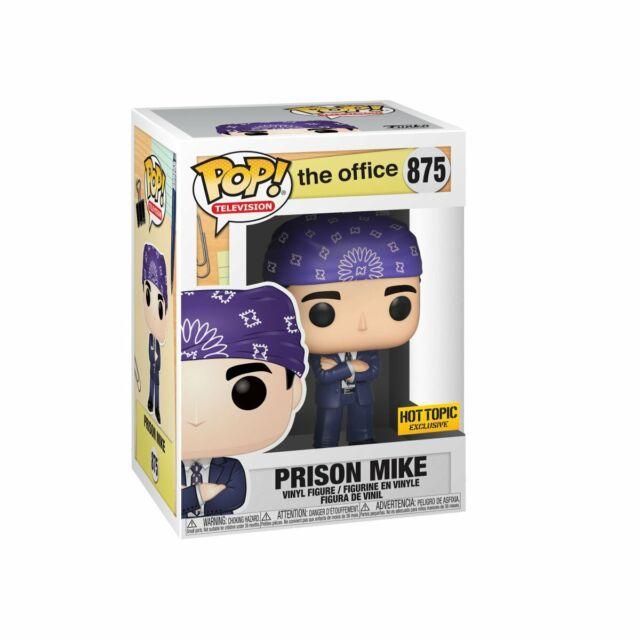 IN HAND Funko Pop Prison Mike 875 The Office TV Series Michael Scott Vinyl