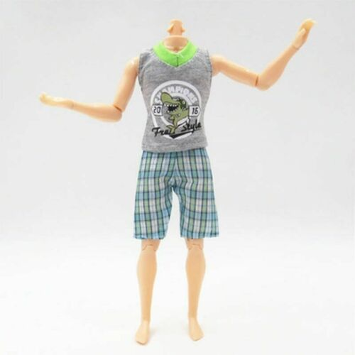 1SET 1//6 Casual WearShirt /& Trousers Shorts For Ken Doll Outfits Pants Clothes