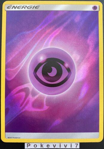 Carte Pokemon ENERGIE PSY Soleil et Lune Commune Reverse FOIL FR NEUF