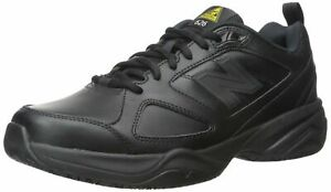 New-Balance-Men-039-s-MID626BK2-Slip-Resistant-Lace-Up-Shoes-Black-9-D-US