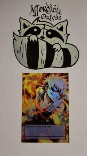 Katsuki Bakugo Yugioh Custom Orica Token My Hero Academia