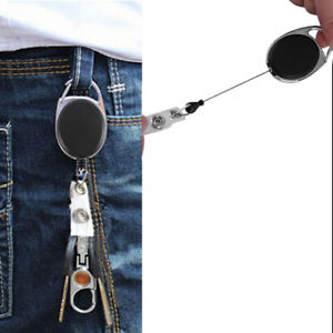 Retractable-Reel-Recoil-ID-Badge-Lanyard-Name-Tag-Key-Card-Holder-Belt-RA