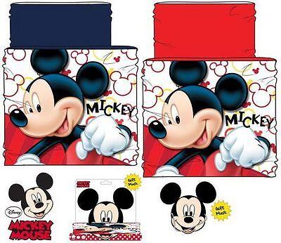Cinghie Sciarpa Disney Mickey Mouse Snood Sciarpa Inverno Mouse Regalo-mostra Il Titolo Originale Regalo Ideale Per Tutte Le Occasioni