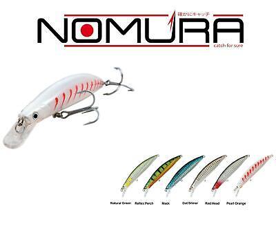 Minnow Nomura Pro Mag 60gr 16cm 24cm totali body pesca traina dentice ricciola