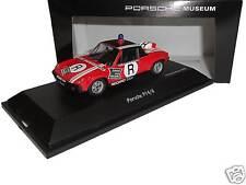 Porsche 914/6 Rennstrecken-Sicherung - Schuco 1:43 - Museum-Edition - neu & ovp
