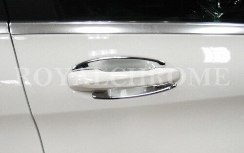 UK STOCK x4 CHROME Door Handle Buckets for Mercedes C E GLC Class W205 W213 X253