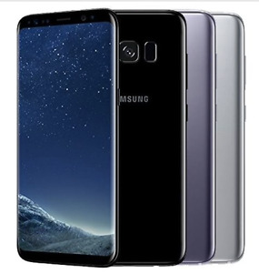 Samsung Galaxy S8 64GB Midnight Black, Orchid Grey, Arctic Silber - Neuware