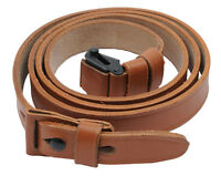 Mauser 98 & 98k Reproduction Tan Leather Sling