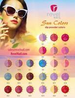 Revel Nail Dip Powder 1oz Jar Sun Color Collection Your Choice