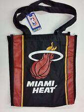 NBA Miami Heat Reusable Canvas Shopping Tote, New