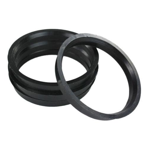 SET OF 4 HUB CENTRIC RINGS SPIGOT RINGS 72.0 to 64.1 mm wheel spacers for HONDA