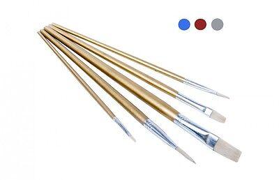 Pinselset 5 tlg. Pinsel Set Künstlerpinsel Malerpinsel Malpinsel Flachpinsel