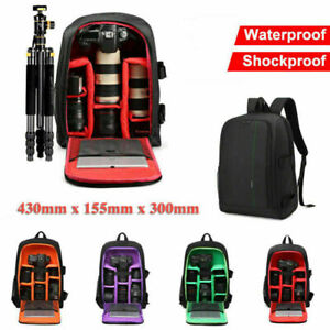 New-Waterproof-Shockproof-SLR-DSLR-Camera-Bag-Case-Backpack-For-Canon-Sony-Nikon