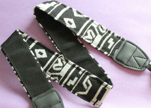 SLR DSLR Camera Neck Shoulder Strap Belt Vintage for Samsung  Nikon Pentax Sony