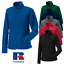RUSSELL ZIPPED FLEECE JACKET CASUAL OUTDOOR SOFT WARM COLLAR POCKETS LADIES NEW