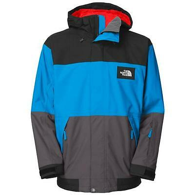 NWT The North Face Mens Wrencher Athens Blue Ski Jacket, Size M L XL